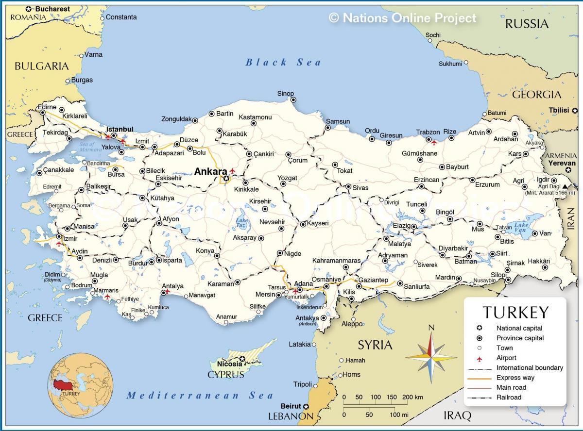 Europa grenze türkei asien Geografische Lage